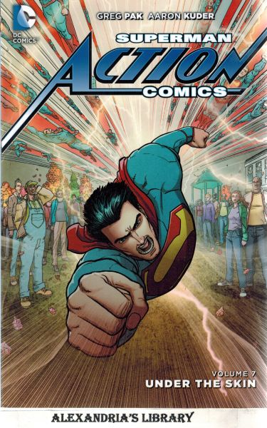 Image for Superman: Action Comics Vol. 7: Under the Skin