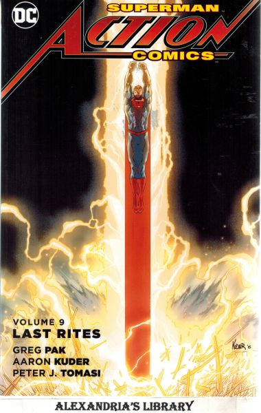 Image for Superman-Action Comics Vol. 9: Last Rites