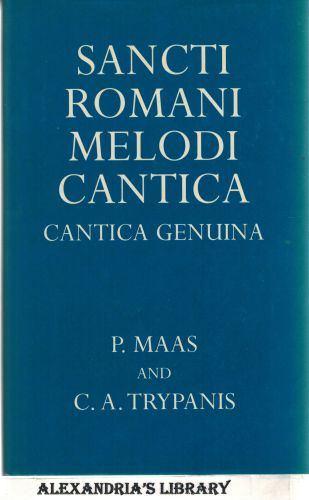 Image for Sancti Romani Melodi Cantica: Cantica Genuina