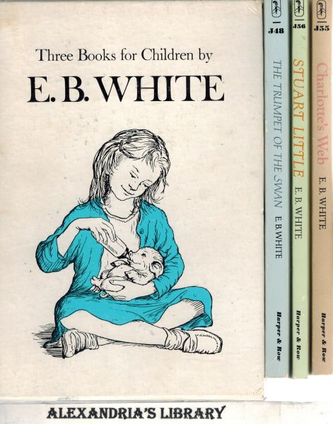Image for Three Books for Children: Charlotte's Web, Stuart Little, the Trumpet of the Swan by E.B. White