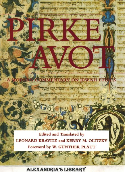 Image for Pirke Avot: A Modern Commentary on Jewish Ethics (English, Hebrew and Hebrew Edition)