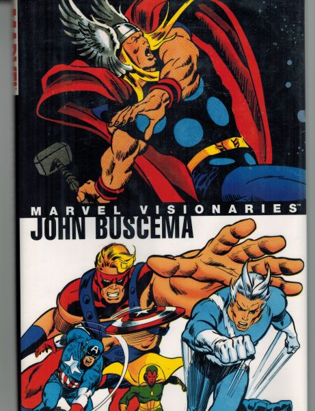 Image for Marvel Visionaries: John Buscema