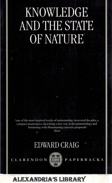 Image for Knowledge and the State of Nature: An Essay in Conceptual Synthesis