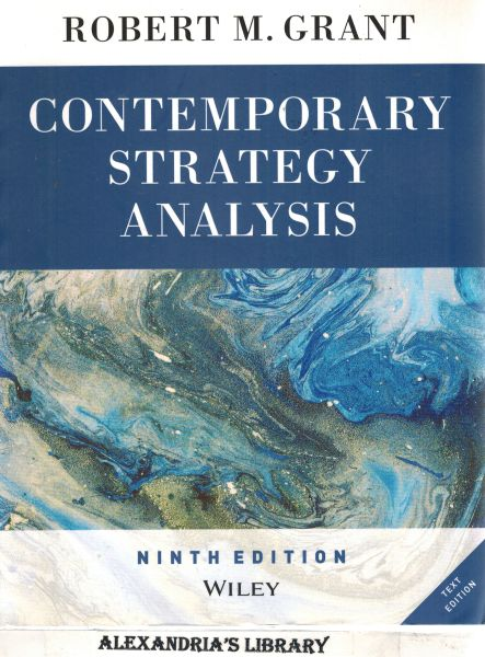 Image for Contemporary Strategy Analysis 9th Edition