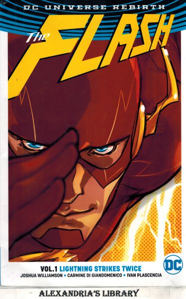 Image for The Flash Vol. 1: Lightning Strikes Twice (Rebirth)