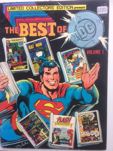 Image for Limited Collectors' Edition Presents The Best of DC, Volume 1: Demon Within, Batman, Superman, Firehair, Flash; Dirty Job C-52,