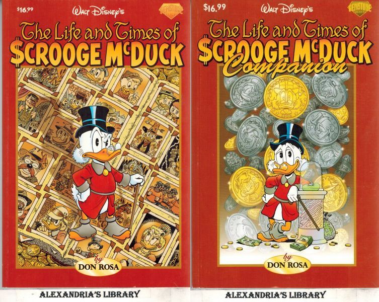 Image for The Life And Times Of Scrooge McDuck & Companion (2 volumes)