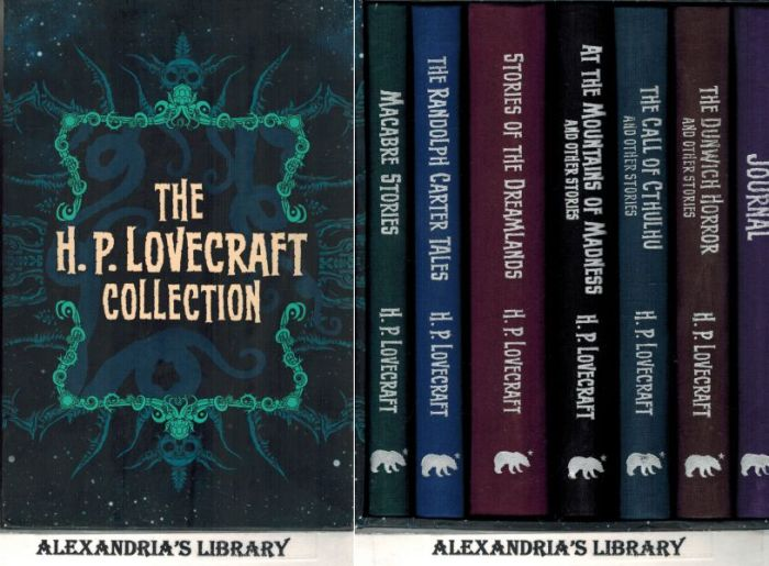 Image for The H. P. Lovecraft Collection: Six Book Set w/ Bonus Journal (Slipcase)