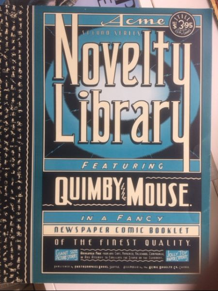 Image for Quimby the Mouse (Acme Novelty Library Volume II, Number II)