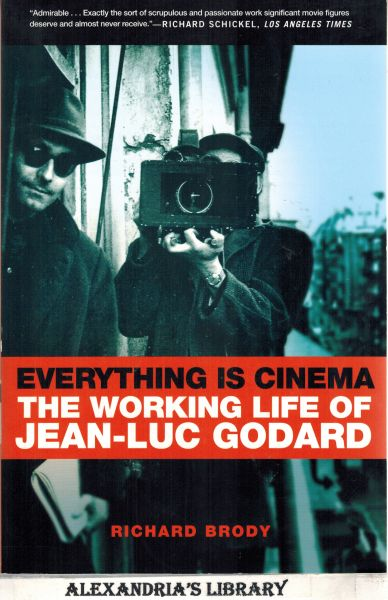 Image for Everything Is Cinema - The Working Life of Jean-Luc Godard