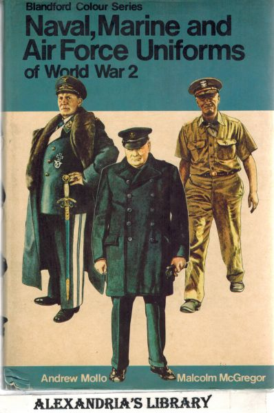 Image for Naval, marine and air force uniforms of World War 2